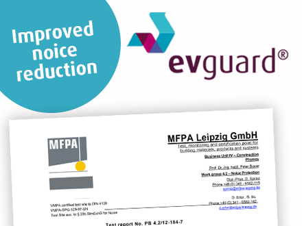 evguard certificate sound reduction